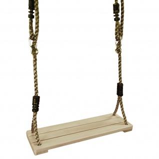 Best Sporting Kinderschaukel Brettschaukel aus Holz 38x14 cm mit verstellbarem Seil