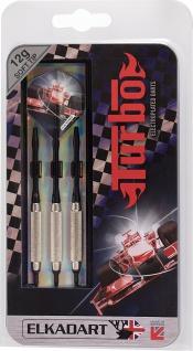 Elkadart Dartpfeile Turbo, 3 Soft-Tip-Pfeile mit Etui, von 10-18 g - Vorschau 2