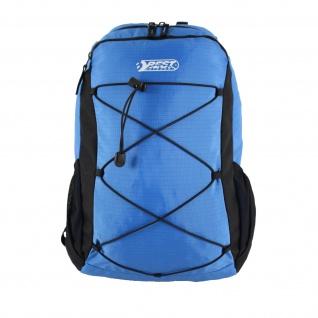 Best Sporting Trekkingrucksack blau-schwarz mit Regenschutzhülle