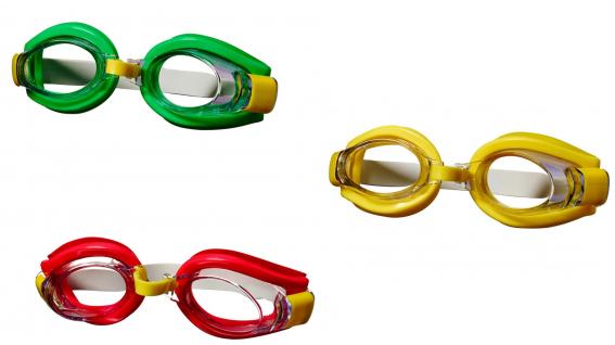 Best Sporting Schwimmbrille Tuna, gelb, grün oder rot