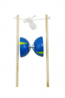 Best Sporting Diabolo Set, blau-grün