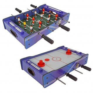 Best Sporting Mini Tischkicker 2 in 1 Fußball und Hockey, 51 x 31 cm