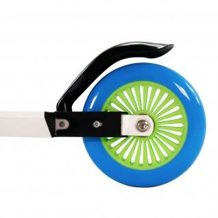 Best Sporting Scooter 125er Rolle, Tretroller für Kinder, klappbar, Farbe weiß/blau oder schwarz/orange - Vorschau 5