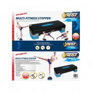 Best Sporting Multi-Fitness Stepper - Steppbrett 2 fach höhenverstellbar - Vorschau 2