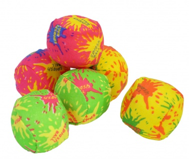 Best Sporting Water Fun Balls aus Neopren 4cm, Set aus 6 St.