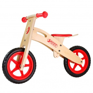 Best Sporting Kinder Laufrad aus Holz, ab 2 - 3 Jahre, Sattel verstellbar