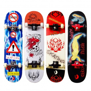 Best Sporting Skateboard, ABEC 5 verschiedene Designvarianten