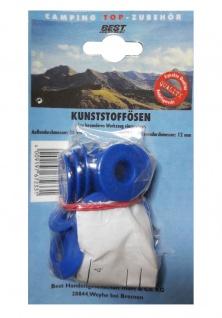 Best Sporting Camping Kunststoffösen, Zelt-Ösen, 30/12 mm, 10 Stück