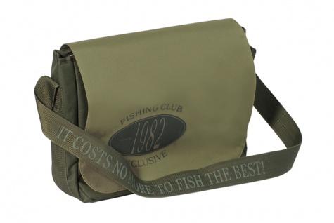 Exori Schultertasche Messengerbag CLUB olive, Schultergurt verstellbar