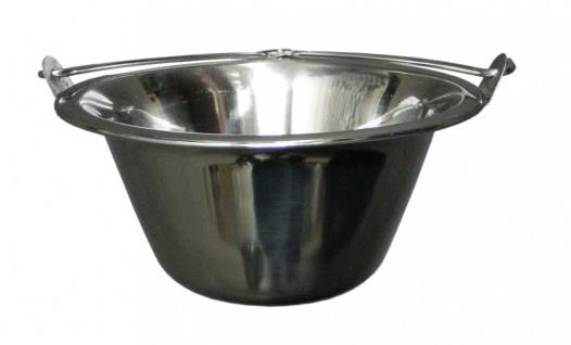 Best Sporting Servierkessel Schale aus Edelstahl 0, 8 Liter