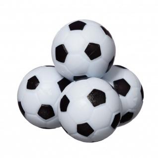 Best Sporting Kickerbälle 36mm, 4 Stück im Set für Tischkicker