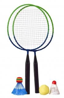 Best Sporting Mini Badminton Set, 2 Schläger mit 3 Bällen