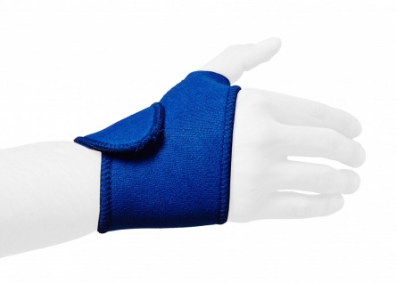 Best Sporting Handgelenkbandage, blau, Neopren