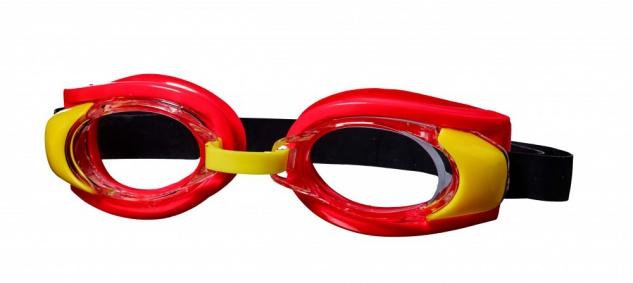 Best Sporting Schwimmbrille Pecker, rot/gelb