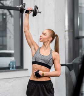 Best Sporting Kurzhantelset, 10 kg, Stellringe oder Sternverschluss