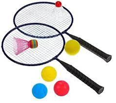 Hudora Federball-Set Fun, Badminton, 76046