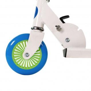 Best Sporting Scooter 125er Rolle, Tretroller für Kinder, klappbar, Farbe weiß/blau oder schwarz/orange - Vorschau 4