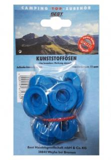 Best Sporting Camping Kunststoffösen, Zelt-Ösen, 30/12 mm, 10 Stück - Vorschau 2