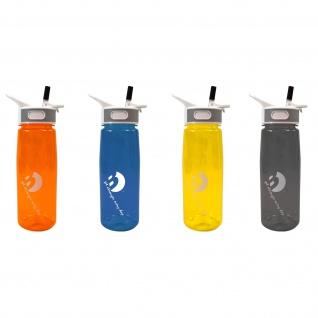 Best Sporting Trinkflasche Coach mit Trinkhalm 750 ml BPA frei