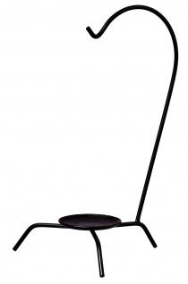Best Sporting Servier-Gestell für Minikessel, 30 cm hoch, schwarz