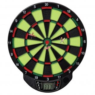 Best Sporting elektronische Dartscheibe WINDSOR GLOW Dartboard mit 6 Pfeilen