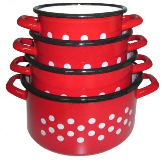 Best Sporting Topf, tief, Größe von 14 - 20 cm, rot
