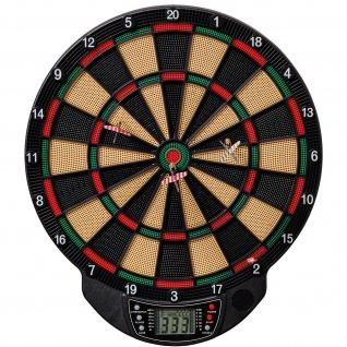 Best Sporting elektronische Dartscheibe BRISTOL LCD-Display Dartboard mit 6 Pfeilen