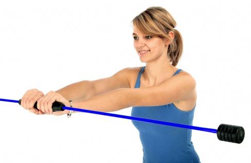 Best Sporting Swing Stick Fitness Schwingstab für Ganzkörpertraining, blau