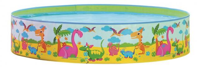 Best Sporting Steilwand-Pool Dino, 180 x 38 cm