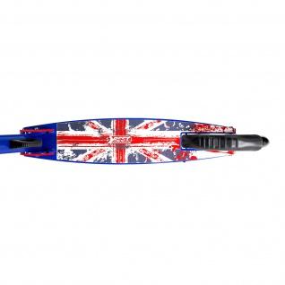 Best Sporting Scooter Union Jack 205er Rolle, aus Aluminium in England Design, klappbarer Tretroller - Vorschau 4