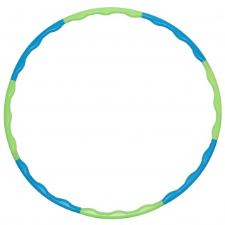 Best Sporting Hoop Fitnessreifen 80cm, 8-teilig, steckbar, blau-grün