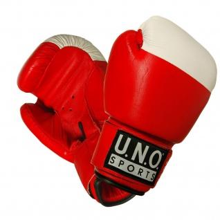 U.N.O. Boxhandschuhe COMPETITION, 10-12 oz, rot