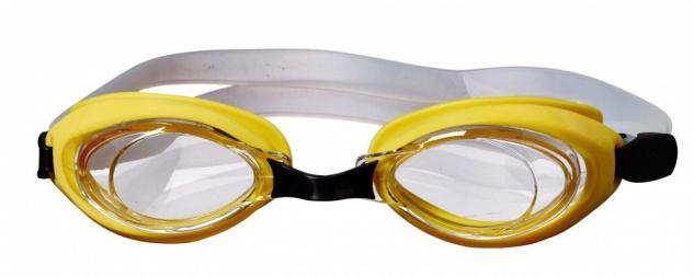 Best Sporting Schwimmbrille Aqua, gelb