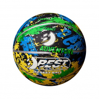 Best Sporting Mini Basketball Größe 1, orange oder bunt