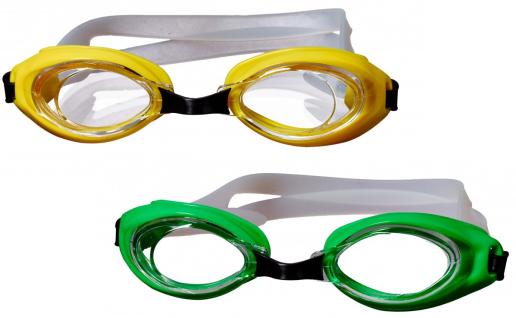 Best Sporting Schwimmbrille Octopus, gelb oder grün