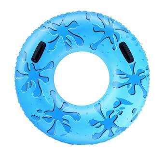 Bestway aufblasbarer Schwimmring mit Griffen, 107 cm, blau
