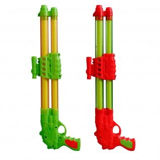 Best Sporting Wasserpistole mit 2 Düsen, grün/gelb oder orange/grün