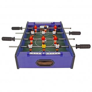 Best Sporting Mini Tischkicker 2 in 1 Fußball und Hockey, 51 x 31 cm - Vorschau 3
