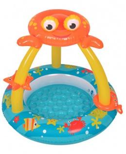 Best Sporting Baby-Pool Planschbecken Crab 100cm rund