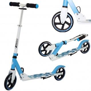 Best Sporting Scooter 180er Rolle, Aluminium Kinder-Roller, klappbar blau oder pink - Vorschau 2