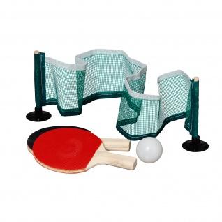 Best Sporting Mini-Tischtennis Spiel, bestehend aus 2 Schlägern, 1 Ball und aufstellbarem Netz - Vorschau 2