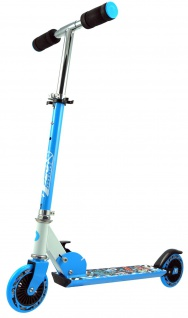 Best Sporting Scooter 125er Rolle, Tretroller für Kinder, klappbar Farbe pink oder blau - Vorschau 2
