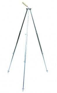 Best Sporting Camping Dreibein Gestell kompakt für Grill, ausziehbar auf 1, 30 m