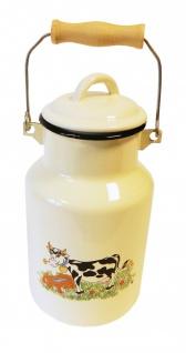 Best Sporting Milch-Kanne mit Deckel, 1 L - 4 L, verschiedene Designvarianten - Vorschau 5