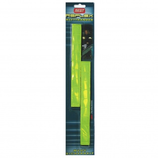 Best Sporting Reflektorband Reflex-Klettband, signal-gelb