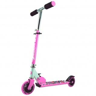 Best Sporting Scooter 125er Rolle, Tretroller für Kinder, klappbar, Farbe pink oder blau - Vorschau 2