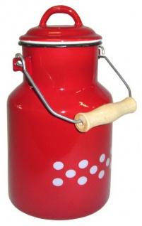 Best Sporting Milch-Kanne mit Deckel, 1 L - 4 L, verschiedene Designvarianten - Vorschau 4