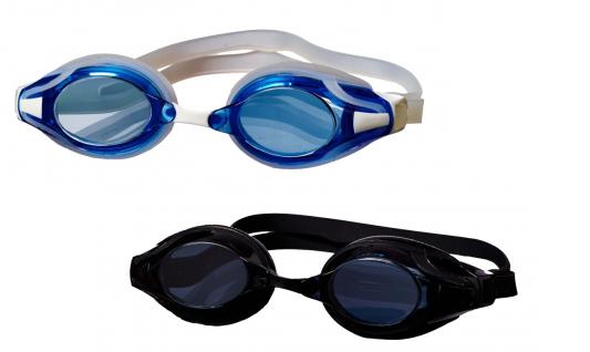 Best Sporting Schwimmbrille Advancer, blau oder schwarz