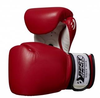 Best Sporting Boxhandschuhe Competition, Größen 10-12 oz, rot