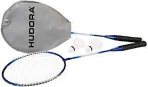 HUDORA Badmintonset No Limit RS-99, 2 Stahlschläger, 2 Federbälle - 76411